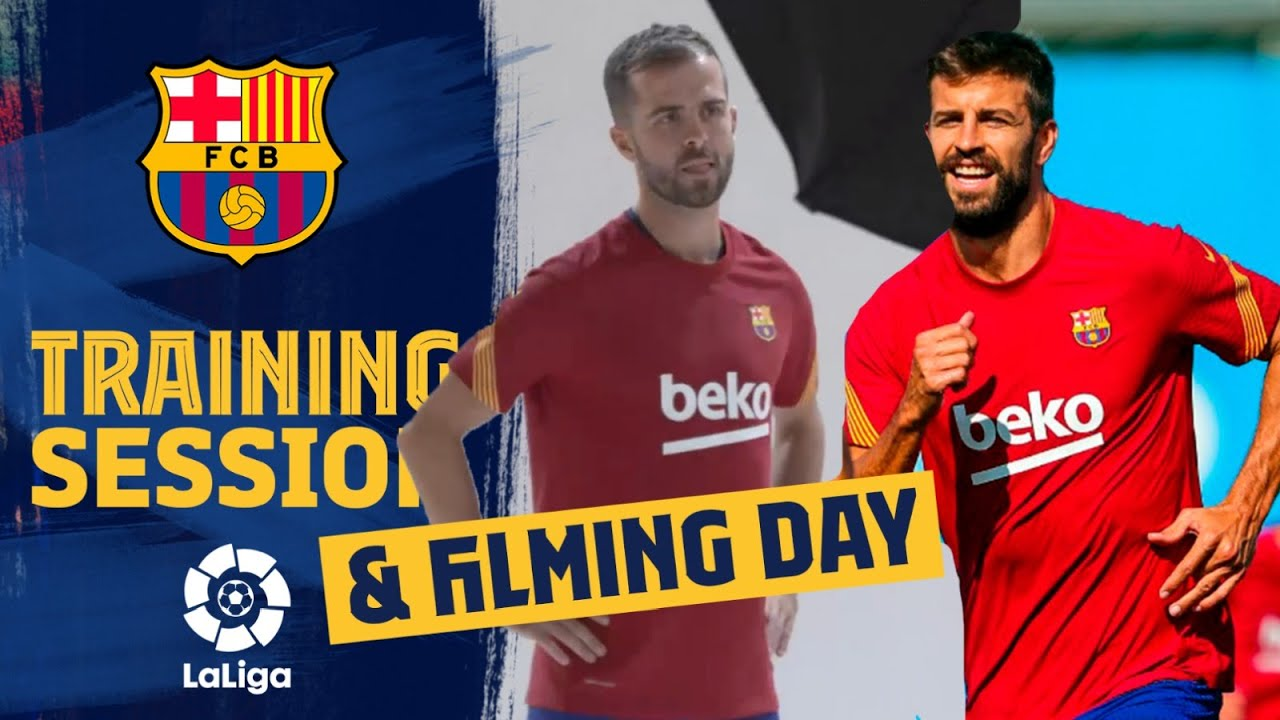 Download 🤩 LIGHTS! CAMERA! ACTION! Shooting day & training for Barça!