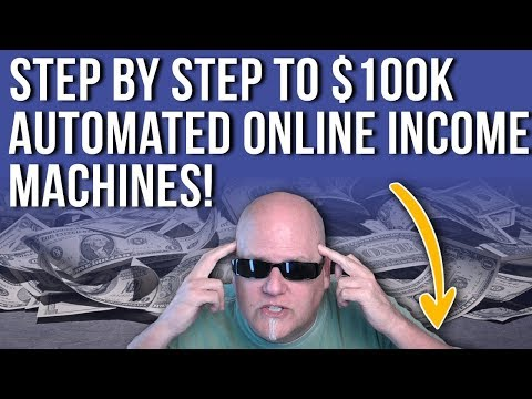 Step by Step to $100K Automated Online Income Machines