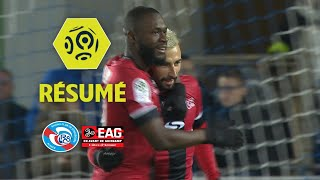 RC Strasbourg Alsace - EA Guingamp (0-2)  - Résumé - (RCSA - EAG) / 2017-18