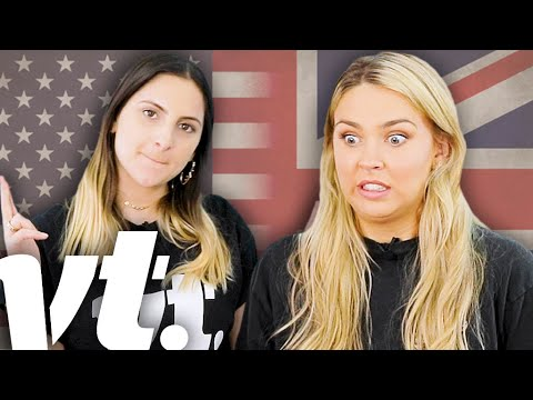British People Try To Guess American Slang Words