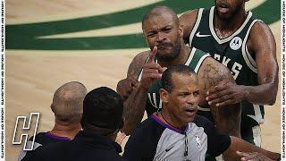 Kevin Durant's Bodyguard Suspended for Nets-Bucks Series for Shoving PJ Tucker