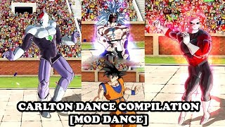 CARLTON DANCE (FORTNITE FRESH EMOJI) COMPILATION! Dragon Ball Xenoverse 2 Mods