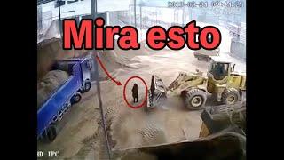 Increíbles accidentes de TRACTORES Y MAQUINARIA PESADA