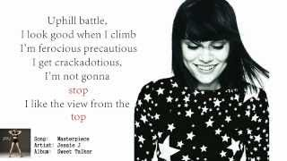 Jessie J -Masterpiece (lyrics)