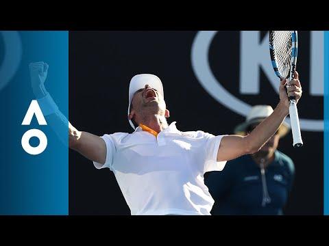 David Goffin v Julien Benneteau match highlights (2R) | Australian Open 2018