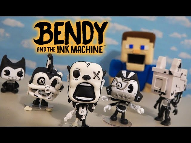 Bendy and the Ink Machine Funko POP Series 3 BATIM Action Figures Chapter 5 Unboxing