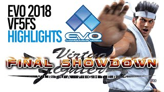 EVO 2018 Virtua Fighter 5 Final Showdown - Highlights