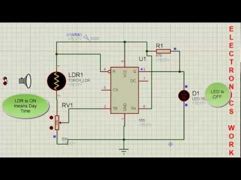 Modified Automatic Night Light - Hacksterio