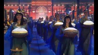 احتفالية موكب نقل المومياوات الملكية إلى المتحف القومي للحضارة بالفسطاط