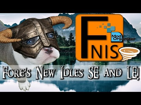 Fores New Idles in Skyrim - FNIS at Skyrim Nexus - mods and