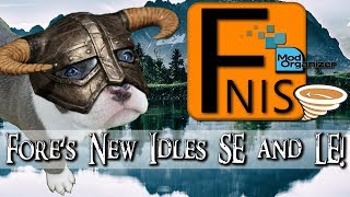 🐲 How to Use FNIS    SE & LE    MO2 & Vortex