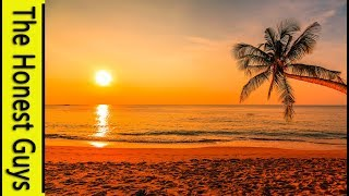 20 MINUTE GUIDED MEDITATION. The Twilight Beach - Insomnia - Relaxation