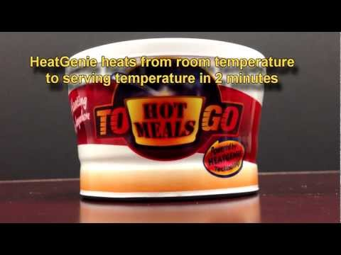HeatGenie Food Heating Demonstration