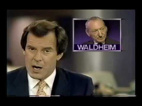 US bars President Kurt Waldheim from country for Nazi crimes - ABC World News Tonight, Apr 27, 1987