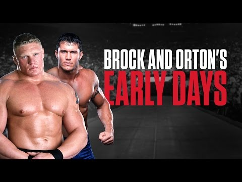 The forgotten history of Brock Lesnar and Randy Orton