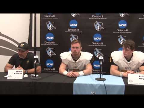 2016 NCAA DIII Football Opening Round - Randolph-Macon Postgame Press Conference