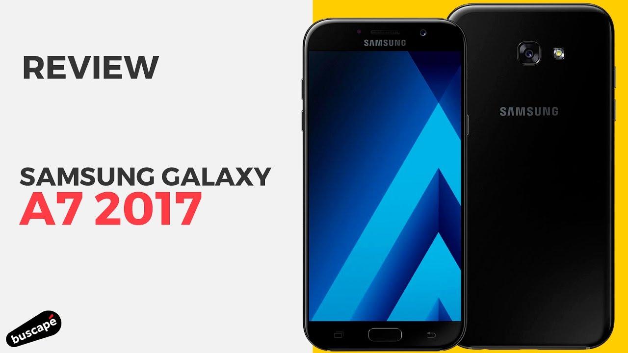 77b838e58 O Samsung Galaxy A7 (2017) é a opção da família A para quem gosta de tela  grande.  Review . Buscapé