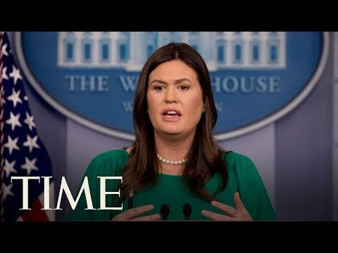 White House Briefing With Press Secretary Sarah Sanders & Russel Vought | TIME