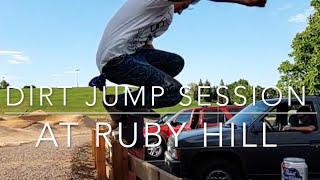 Ruby Hill Bike Park Dirt Jumping Session