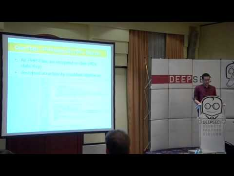 DeepSec 2013: Auditing Virtual Appliances - An Untapped Source Of 0-days