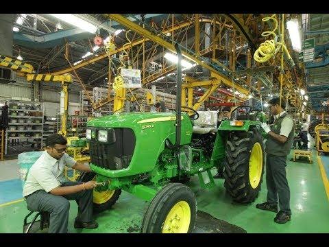 John Deere manufacturing in india