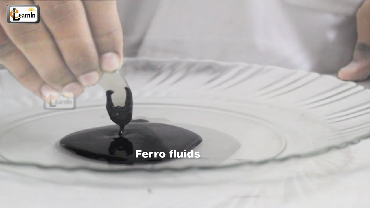 Making Magnetic FerroFluid | How To Make Ferrofluid at home ...