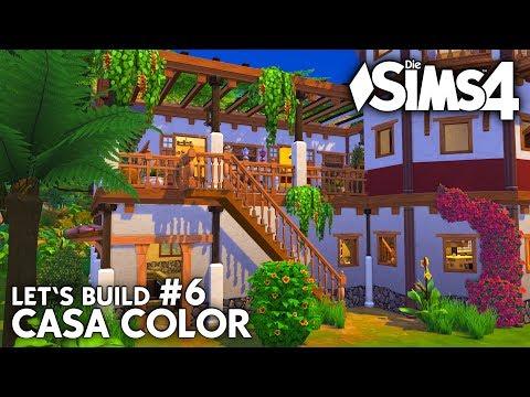 die-sims-4-haus-bauen-|-casa-color-#6:-kinderzimmer,-bad,-balkon-(deutsch)
