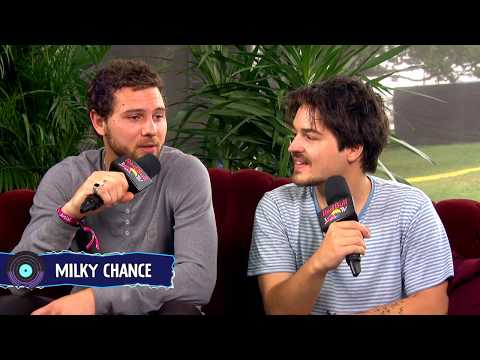 Milky Chance interview Lollapalooza Chicago 2017