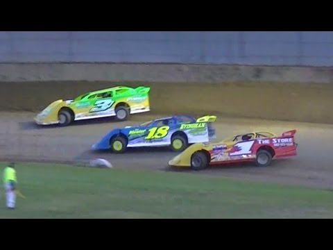 Crate Late Model Feature | Little Valley Speedway | 6-10-16