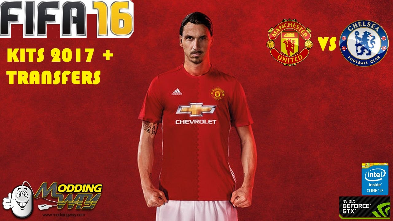 FIFA 16   Kits 16 17   Manchester United Vs Chelsea - YouTube 23885c2ab