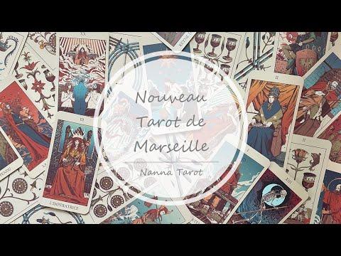 開箱  新藝術馬賽塔羅牌 • Nouveau Tarot de Marseille // Nanna Tarot