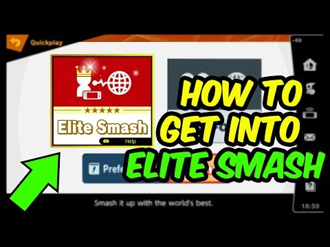How To Get Into Elite Smash In Super Smash Bros Ultimate