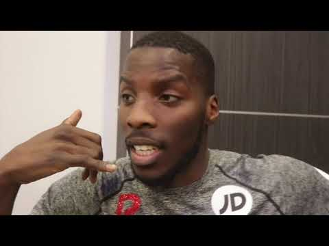 LAWRENCE OKOLIE (UNLEASHED) 'EDDIE HEARN TAKE ME FROM McDONALDS & PUT ME IN THE OLYMPIC SQUAD - NO'
