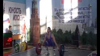 Чемп.Москвы, рывок 85 кг