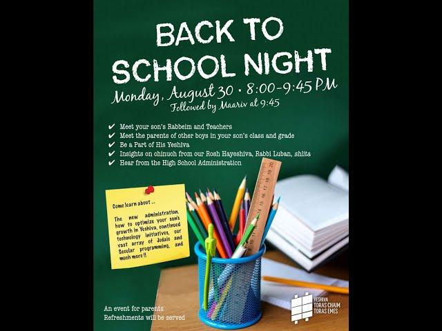 DACHS Back to School Night 2021