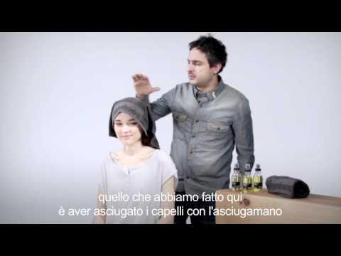 Tutorial OI/OIL by Davines with Angelo Seminara