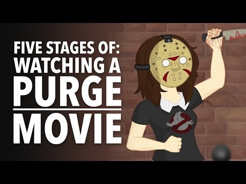 Five Stages of Watching a Purge Movie