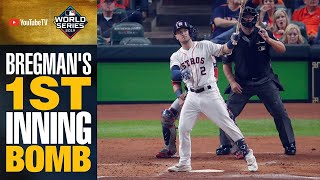 Alex Bregman leads Astros big 1st inning with MONSTER blast (And carries bat too)