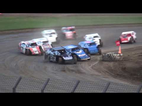 IMCA Modified Heat 2 Davenport Speedway 9/21/18