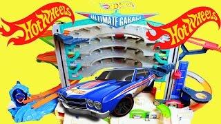 Hot Wheels Ultimate Garage Playset Elimination Race Car Worlds Largest Toys Track Set Competition
