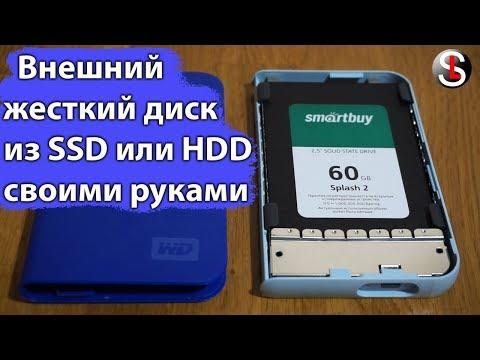 Внешний жесткий диск из SSD или HDD
