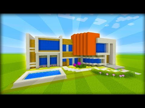 Minecraft Tutorial: How To Make A Modern Mansion #3