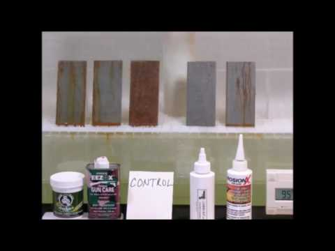 Best Lube Corrosion Test Time Lapse with Music