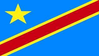 Bandera e Himno de República Democrática del Congo - Flag of Democratic Republic of The Congo