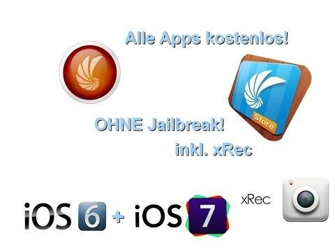 Alle Apps kostenlos herunterladen für iOS 6 und 7 OHNE Jailbreak! HD [German/Deutsch]