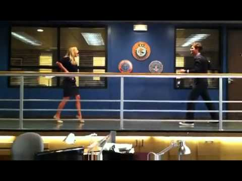 Fastest Hands on Set  AJ Cook vs Matthew Gray Gubler Criminal Minds
