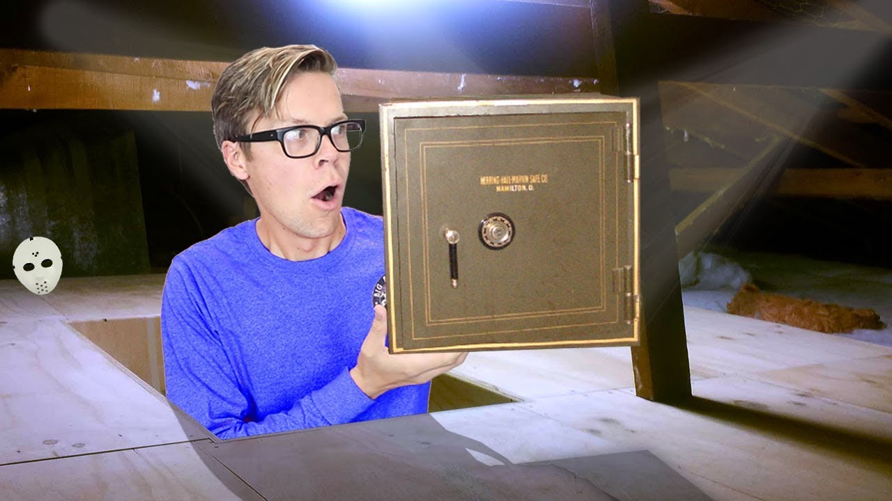 Found New Mysterious SAFE above our House Clues  GAME MASTER Plans into Underground Tunnel