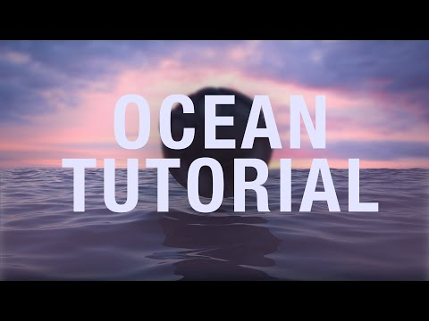 How to make a Moving Ocean in Cinema 4D (HOT4D Plugin)