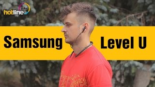 Samsung Level U - обзор Bluetooth-гарнитуры