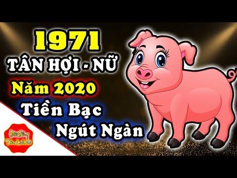 Tử Vi Tuổi Tân Hợi Nữ Mạng 1971 NĂM 2020, ĂN NÊN LÀM RA, Giàu Bất Thình Lình